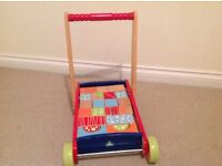 Colourful bricks trolley from smoke and pet free home