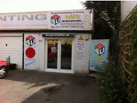 shop or office with parking