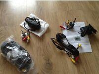 Bird box video cameras,one black and white one colour