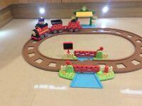 Happyland Moving Train Set
