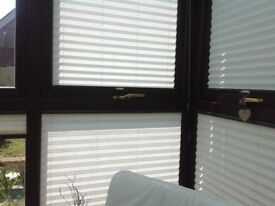 Blinds for conservarory windows made by Sanderson