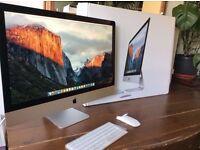 "27"" iMac 5K Retina - 3.2 QuadCore i5 - 16 Gig Ram -1TB Fusion Drive - Warranty 2019 -MK462B/A"