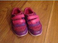 Clarks Girls Trainers 6.5G