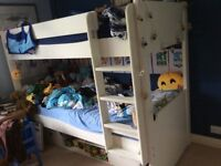 Stompa bunkbed with under bed storage unit