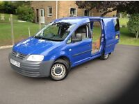 2007 vw caddy for sale with extremely low genuine mileage of 44350,nice looking van in good conditon