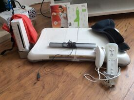 Wii Fit system, hardly used, includes all relevant accessories.