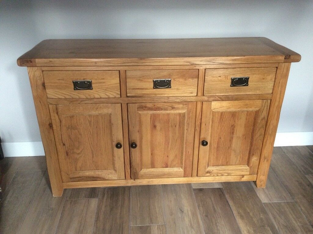 Large Solid Oak Sideboard - Excellent Condition