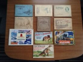 REDUCED IN PRICE - ALL FULL SETS, BROOKE BOND/OTHER TEA CARDS AND CIGARETTE CARDS AND ALBUMS.