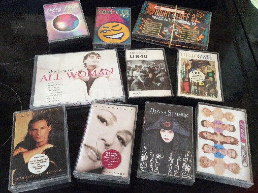 Various cassettes   in Esh Winning, County Durham   Gumtree