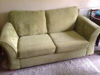 DFS metal action sofa bed.