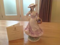 Royal Worcester Figurine (Four Seasons Collection) 'AUTUMN'