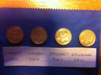 Full set of Capital Cities coins