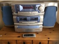 Cd , tape player and record player
