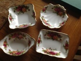 Royal Albert old country rose dishes