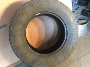 FOUR LT275/65R18 NITTO TERRA GRAPPLER ALL TERRAIN 65%