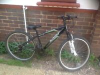 Adults Slant Mountain Bike with front suspension 18 sp