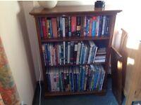 Dark Oak Shelf unit / Bookcase