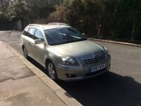 Reserved. Toyota Avensis Estate T3-X Manual Petrol 2007 Plate