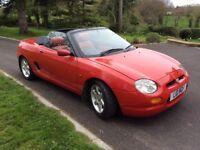 1996 MGF 1.8 Petrol Red 63857 miles