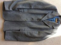 For Sale - Two Caldene Blue Grey tweed Riding/Hacking Jackets