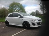 Corsa 1.2 special edition with VXR body ,tinted windows,black 17inch alloys in great condition