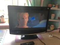 "22"" hd freeview dvd tv"