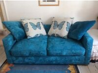 Beautiful quality sofa bed butterfly design VGC