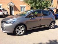 2014 Renault Clio Media Nav Dynamique (0.9 energy tce 90 bhp) with FSH and 52,900 miles