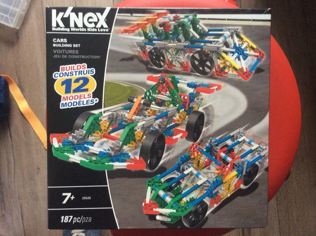 Knex cars building set (BNIB)