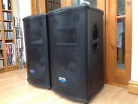 Pair of Mackie S215 speakers. Very good condition.
