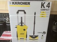 Karcher k4 compact home water-cooled pressure washer with all attachments