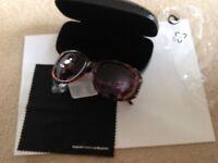 Swarvoski Crystal Sunglasses, plus Case, BRAND NEW