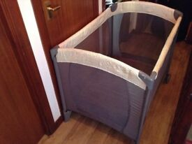 Mothercare travel cot - nearly new