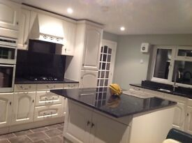 Large granite marble 28mm thick kitchen worktops for sale