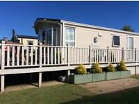PRIMROSE VALLEY luxury 3 bedroom to hire central heated double glazed large veranda