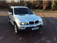BMW X5 3.0d Sport, Genuine Mileage ,Sat Nav ,305£ Road Tax
