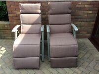 Hartman Brisbane 2 Recliner with Cushion - colour Taupe