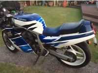Susuki gsxr 750 1985 with number plate B750 ...