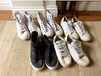 Mens converse trainers size 8