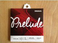 Prelude Violin Strings 1/2 size