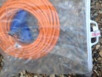 Extension hook up cable for caravan Now sold