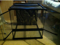 Glass medium vivarium kit