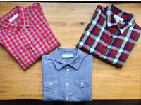 THE LITTLE WHITE COMPANY LONDON - BOYS SHIRTS AGE 3-4 ***IMMACULATE CONDITION***