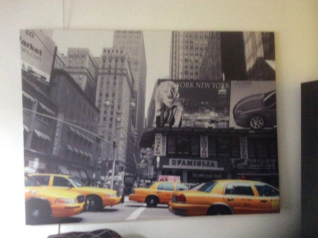Three New York prints