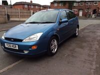 FORD focus 1.8 TDI 5DR hatchback diesel manual 2001 full history 12 months mot miles 96000