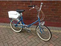 Classic folding bike