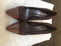 Ralph Lauren, new brown shoes