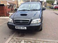 Spares or repairs 2005 Kia Sedona 7 seater 2.8cc turbo diesel starts drives an stops short mot