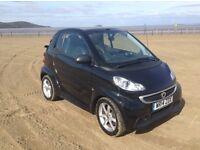 SMART CAR FORTWO CABRIO PULSE. £5,500. 12 MONTH MOT. FULL SERVICE HISTORY