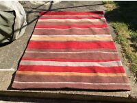 Rug with stripes vgc